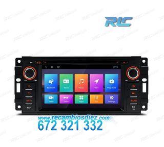 NAVEGADOR GPS JEEP DODGE Y CHRYSLER LCD TÁCTIL 6,2