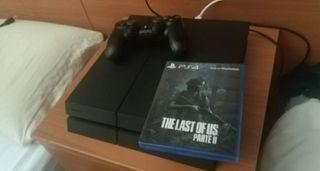 The Last Of Us 2 + PS4 500gb + mando