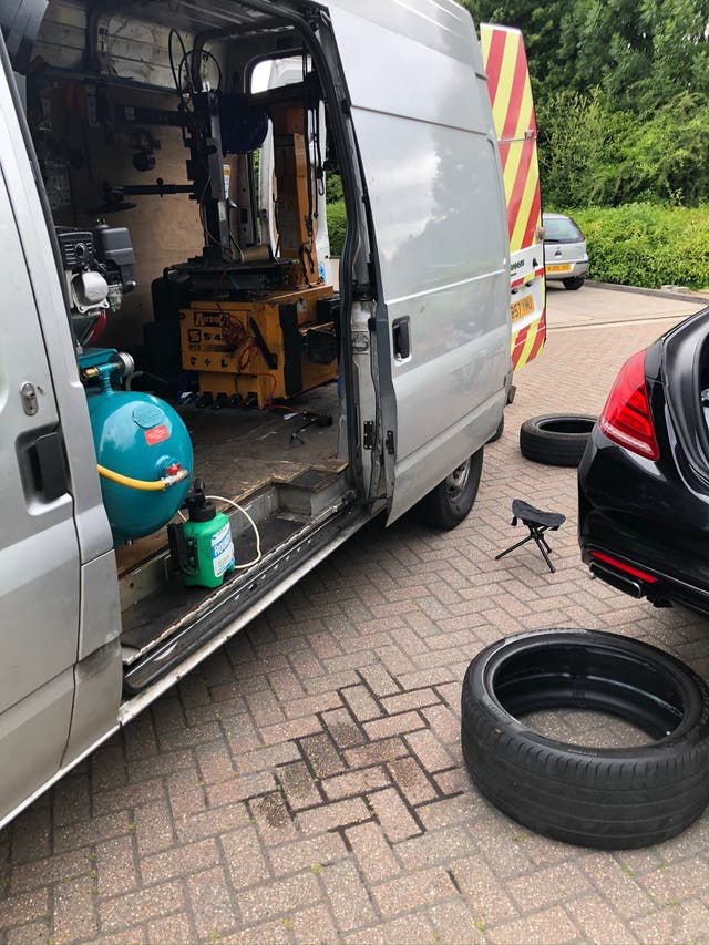 Tyres mobile services