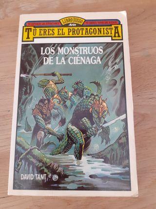 Librojuego Los monstruos de la ciénaga -David Tant