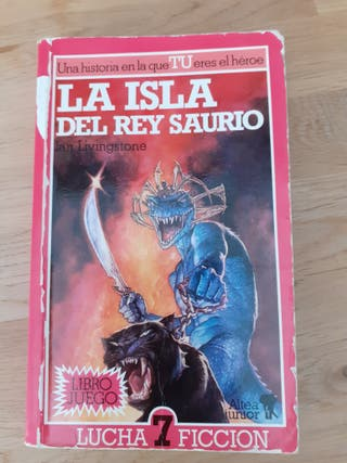 Librojuego La isla del rey saurio - Ian Livingston