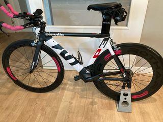 Bicicleta de triatlón Cervélo P3. Talla 51