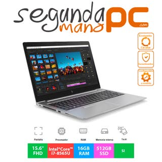 HP ZBook 15u G6 - i7-8565U - 16GB RAM - 512GB SSD