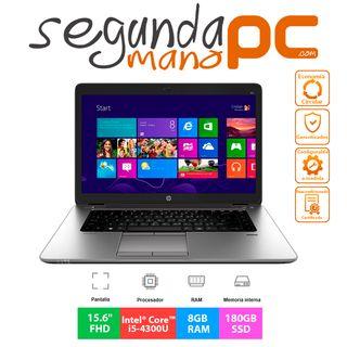 HP EliteBook 850 G1 - i5-4300U - 8GB - 180 GB SSD