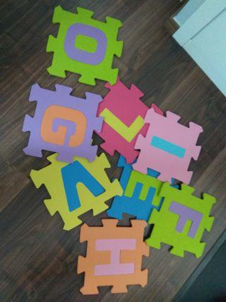 Puzzle goma suelo