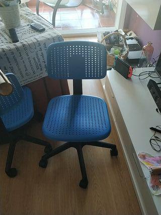 silla escritorio infantil ikea
