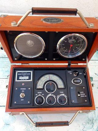 """Radio reloj """"Spirit of St. Louis"""" Radio años 90"""