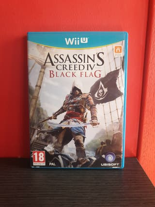 Juego Assassin's Creed IV Black Flag (Wii U)
