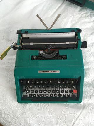 Olivetti Studio 45 Máquina de escribir