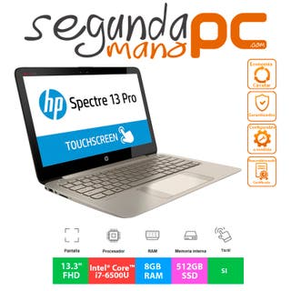 HP Spectre Pro 13 G1 - i7 - 8GB RAM - 512GB SSD