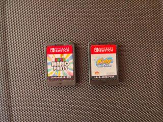 Super Mario Party y Kirby Star Allie