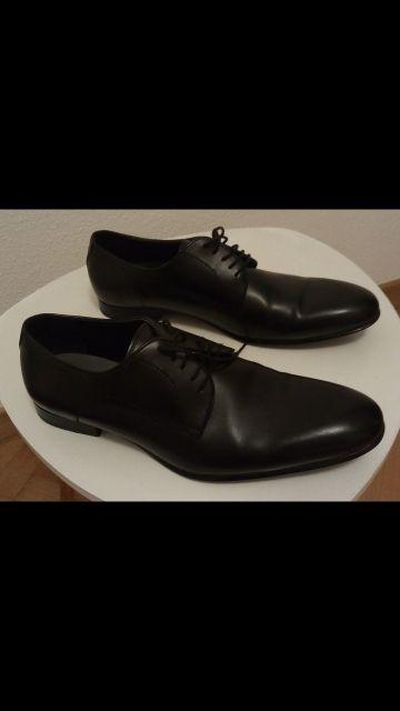 Zapatos negros Zara hombre