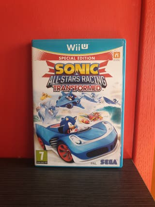 Juego Sonic & All Stars Racing Transformed (Wii U)
