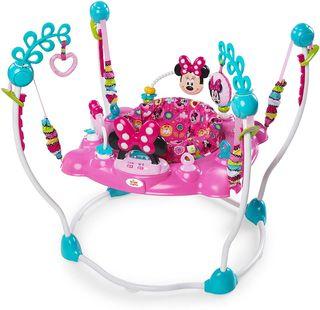 Saltador bebe Minnie Mouse