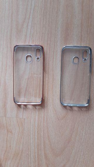 2 Carcasas Samsung Galaxy A40