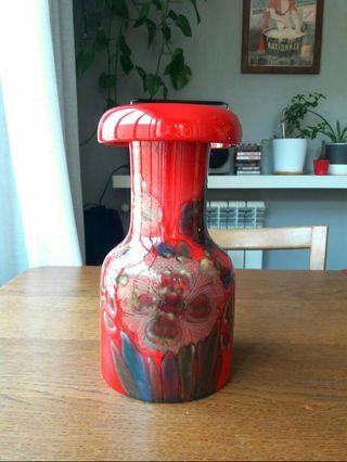 Jarron vintage cerámica Rubino Italiano serie nume