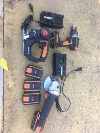Kit herramientas a baterias