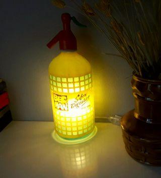 lampara sifon vintage Bec Man luz calida ambiente