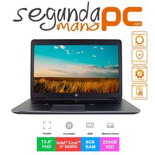 HP EliteBook 850 G2 - i7-5600U - 8GB - 256GB SSD
