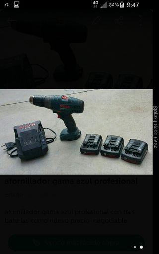 atornillado taladro a batería bosch