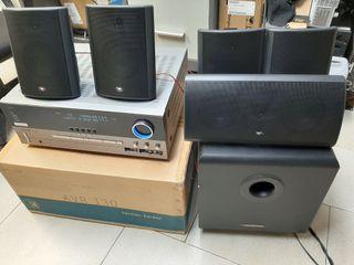 Equipo Dolby Cerwin Vega + Harman Kardon