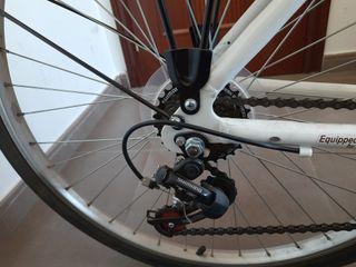 Bicicleta híbrida mujer