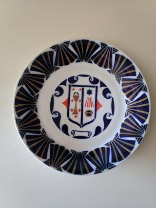 Plato grande cerámica de Sargadelos