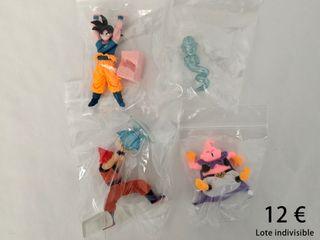 Figuras de Dragon Ball Z Gashapon Desktop (Lote)