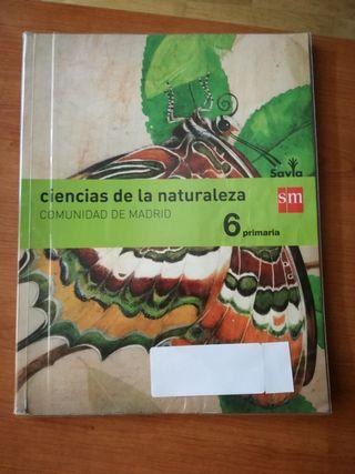 libro de texto Ciencias de la naturaleza. sm savia