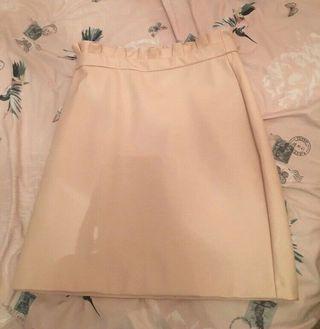 River island baby pink skirt