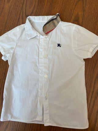 Burberry camisa niños 2-3 años