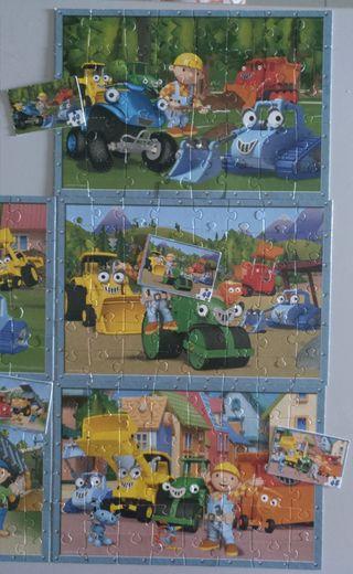 Lote 8 Puzzles infantiles.