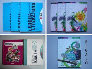 8 Libros texto 2º ESO + regalo