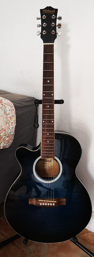 Guitarra Electroacústica para ZURDOS