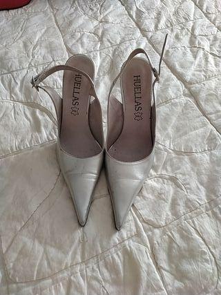 zapato plata