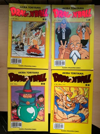 Cómics Dragon Ball