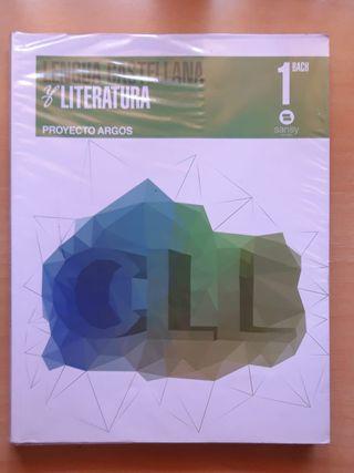 Libro Lengua Castellana y Literatura 1° Bachiller