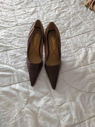 zapato chocolate