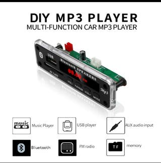 tablero MP3 Bluetooth.