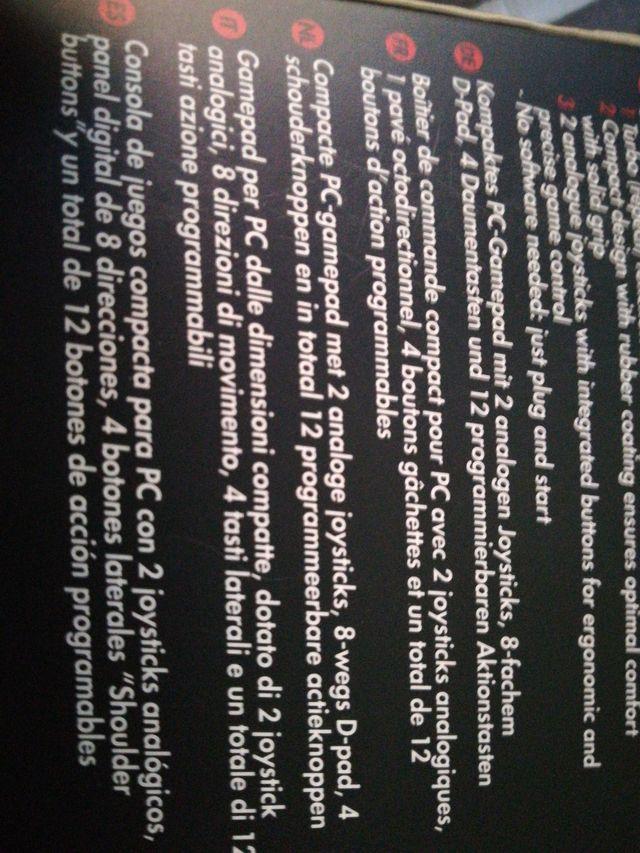 Comoact Gamepad GXT24