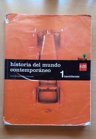 Libro Historia del Mundo Contemporáneo 1°Bachiller