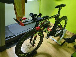 Bicicleta de Triatlon.