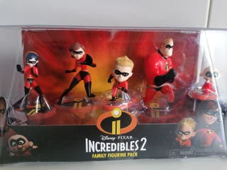 LOS INCREIBLES 2 Disney set 5 figuras Coleccion