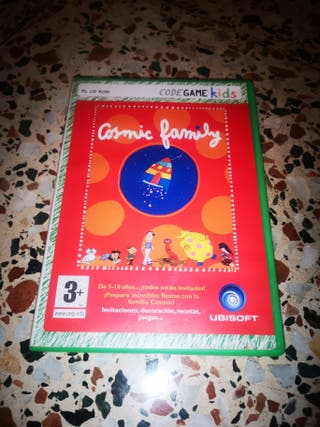 Juego pc infantil cosmic family