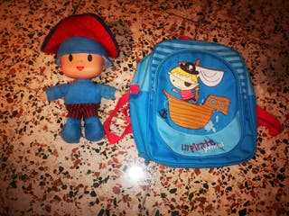 Muñeco pocoyo y maleta