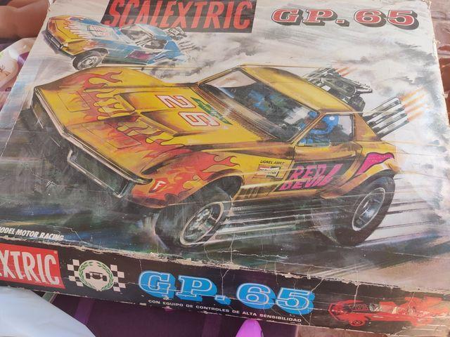 SCALEXTRIC GP65