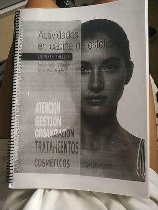 Libro de grado medio de estética y belleza