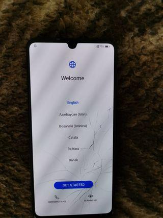Huawei p30 pantalla rota FUNCIONA