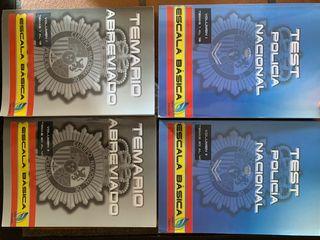 Libro de test y resumido policia nacional