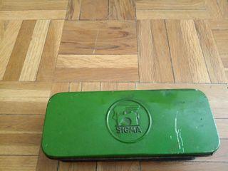 Caja chapa Sigma